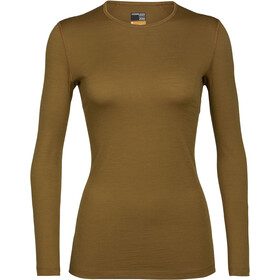 Icebreaker 200 Oasis LS Crew Top Women curry
